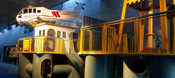 Småtroll lekeplattform i oljemuseet. Foto: NOM