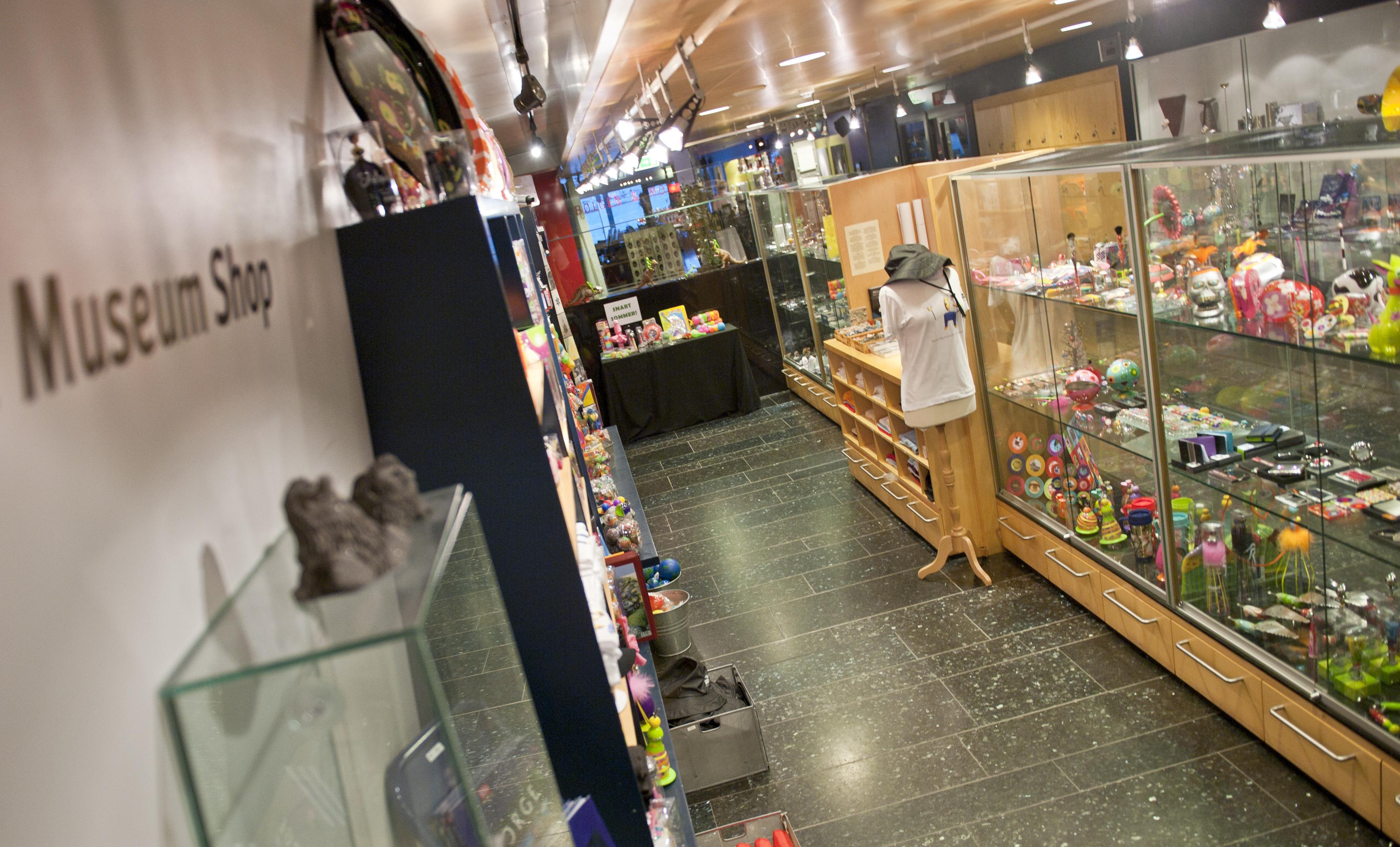 Museumsbutikken Foto: Shadé Barka Martins/NOM