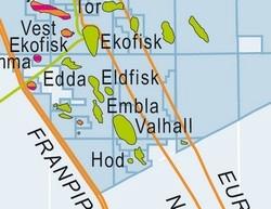 kart oljefelt Valhall | Norsk Oljemuseum kart oljefelt