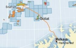 snøhvitfeltet kart Snøhvit | Norsk Oljemuseum snøhvitfeltet kart