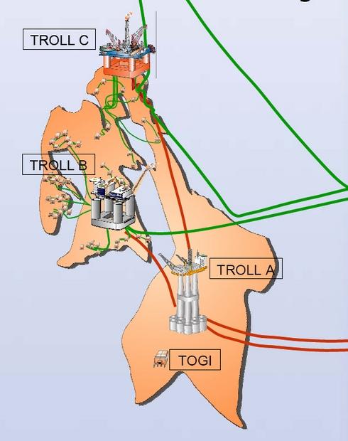 trollfeltet kart Troll | Norsk Oljemuseum trollfeltet kart