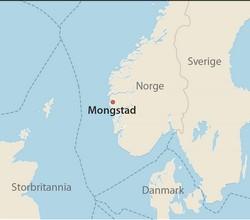 kart mongstad Mongstad oljeraffineri | Norsk Oljemuseum kart mongstad