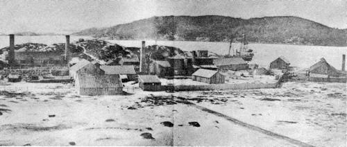 Norges første oljeraffineri Mandal Paraffin Olie Co