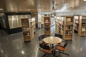 Oljemuseets bibliotek. Foto: Shadé B. Martins