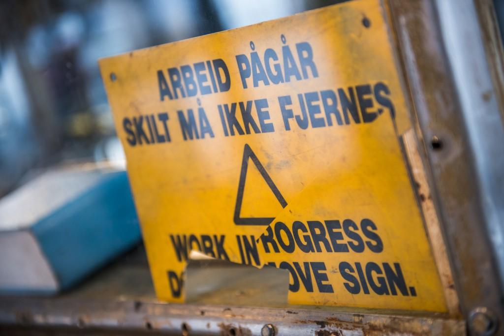 Pionerene i oljenæringen bidro med hardt arbeid. Foto: Fredrik Ringe