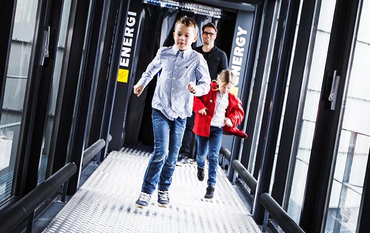 Full fart. Foto Elisabeth Tønnessen/NOM