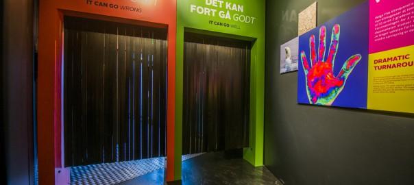 Utgang energi og miljøutstilling på Oljemuseet foto Fredrik Ringe