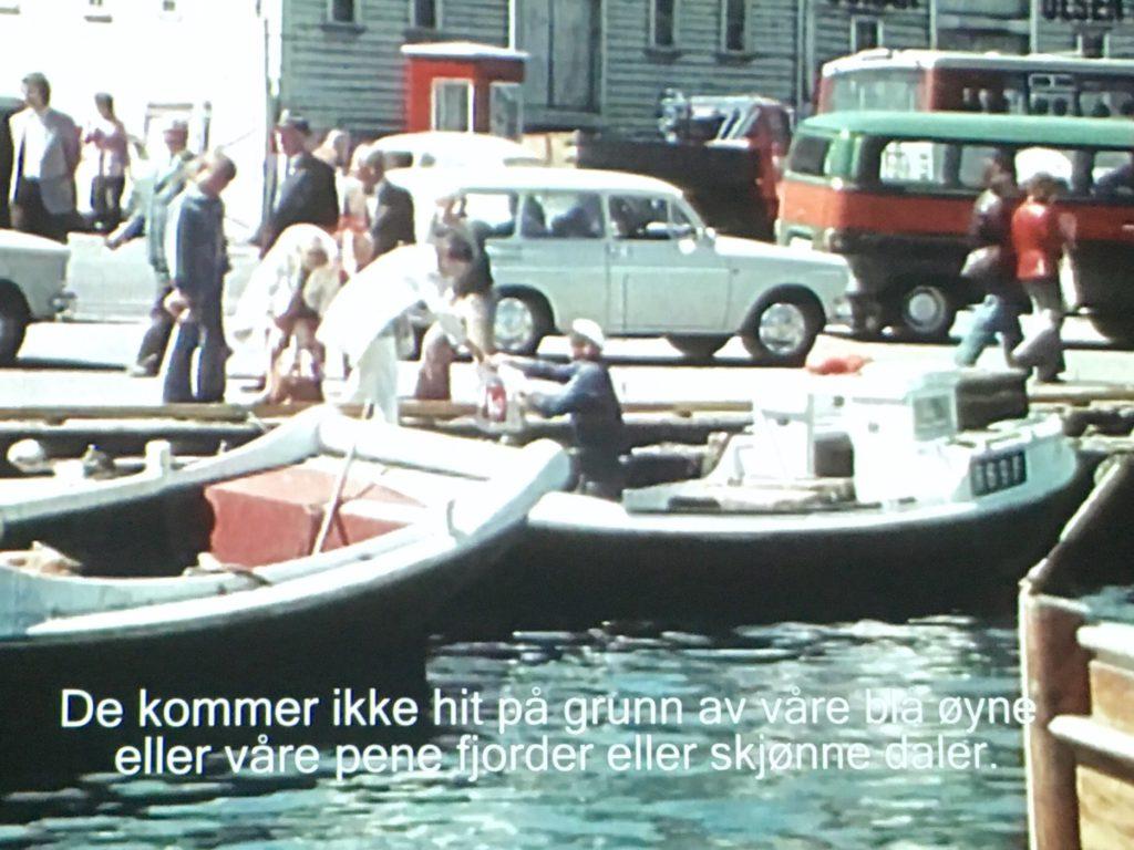"""Var Stavanger koseligere før? (Bilde fra filmen """"Oljeunge"""")"""